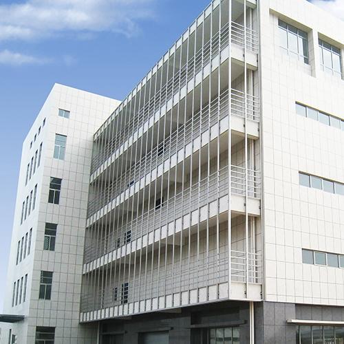盐城中国移动第三机电办公楼外墙 /真石漆