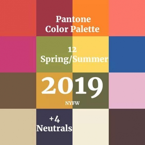 2019春夏12种家装潮色,够你每半个月换一次家装风格
