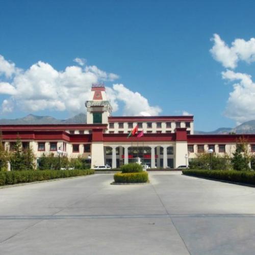 五星级标准!拉萨江苏生态园大酒店使用东艺宝真石漆!